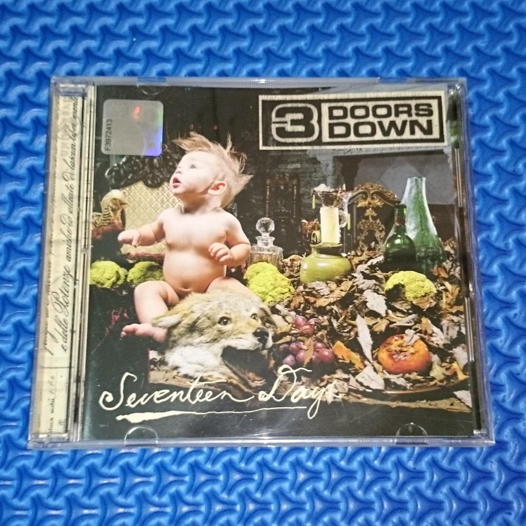 🆒 3 Doors Down - Seventeen Days [2005] Audio CD