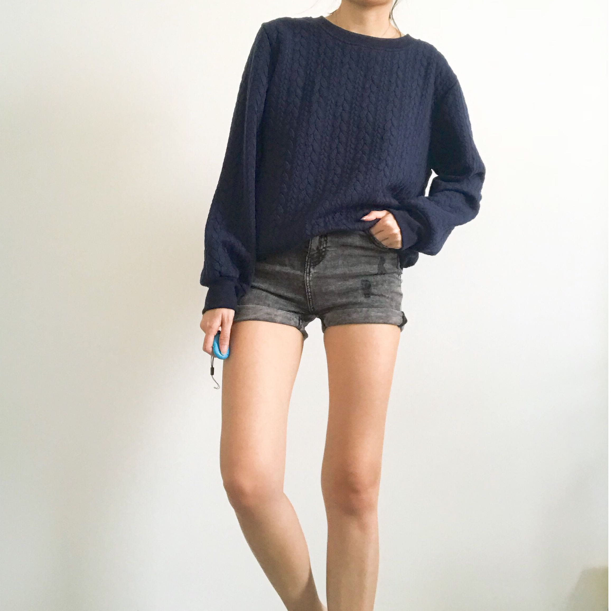 🆕 Blue Sweater