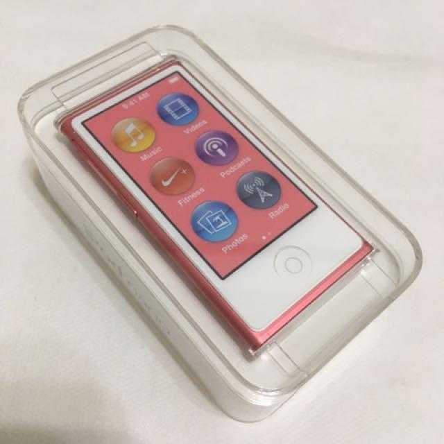 全新 iPod nano 7 pink 16gb