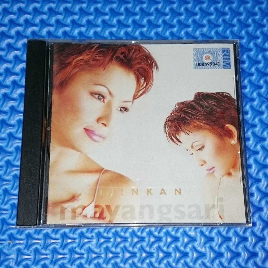 🆒 Mayangsari - Ijinkan [2000] Audio CD