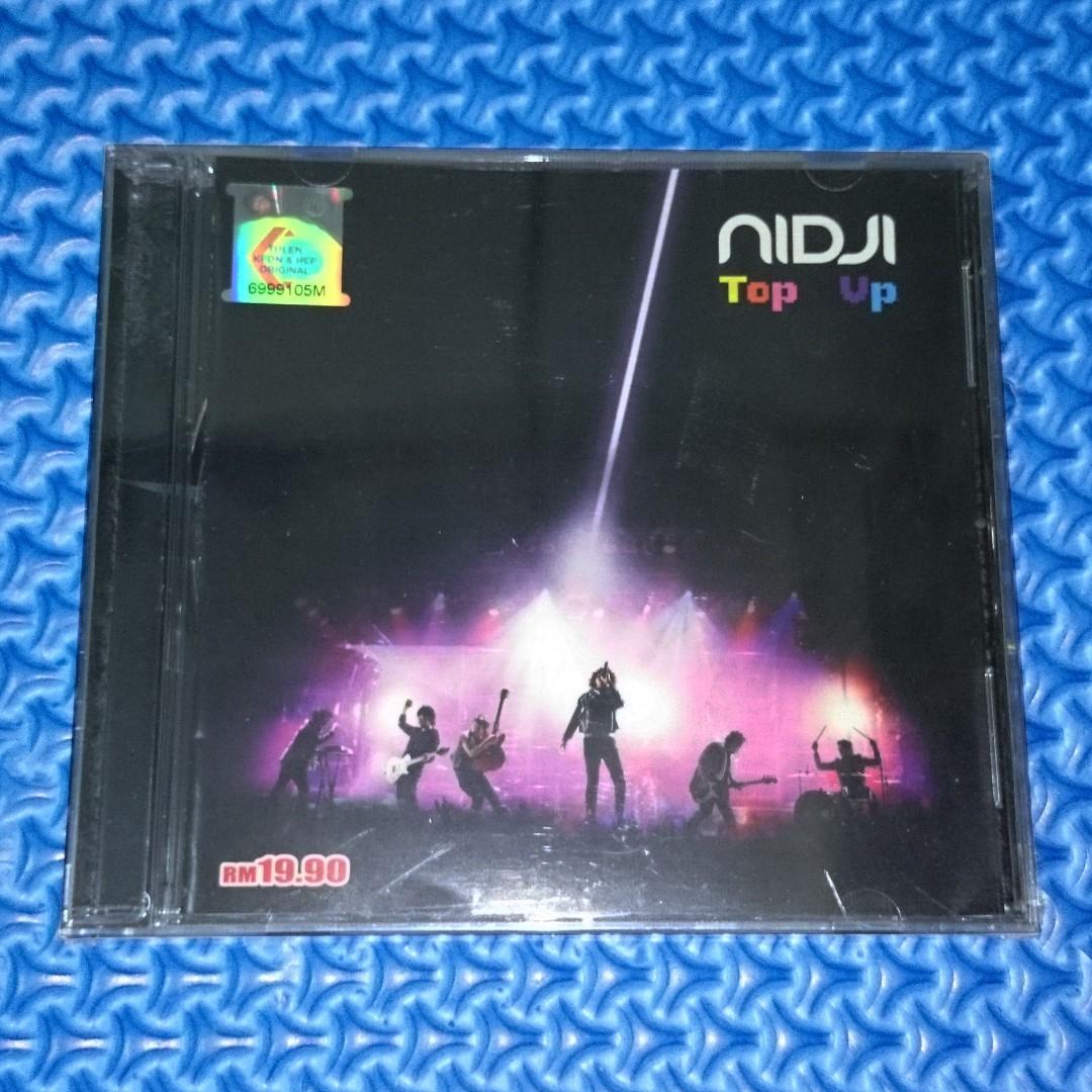 🆕 Nidji - Top Up [2007] Audio CD