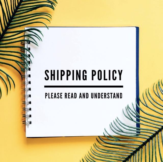 🚛 Shipping Policy