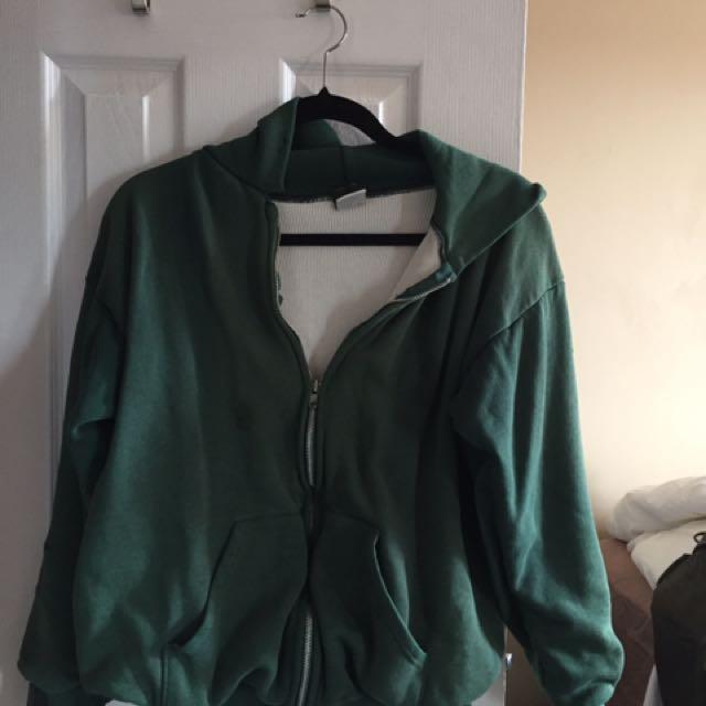 Ace sportswear vintage green sweater