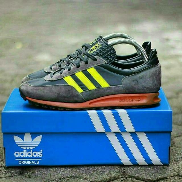 best service 21393 5fc33 greece adidas trx trainers blue yellow f464a d17ac