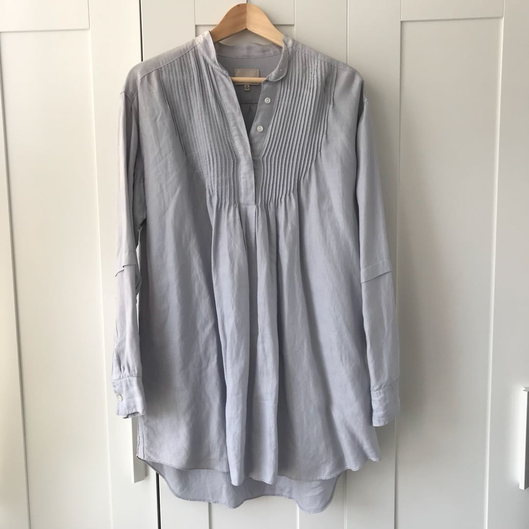 Aritzia Wilfred le fou blouse medium