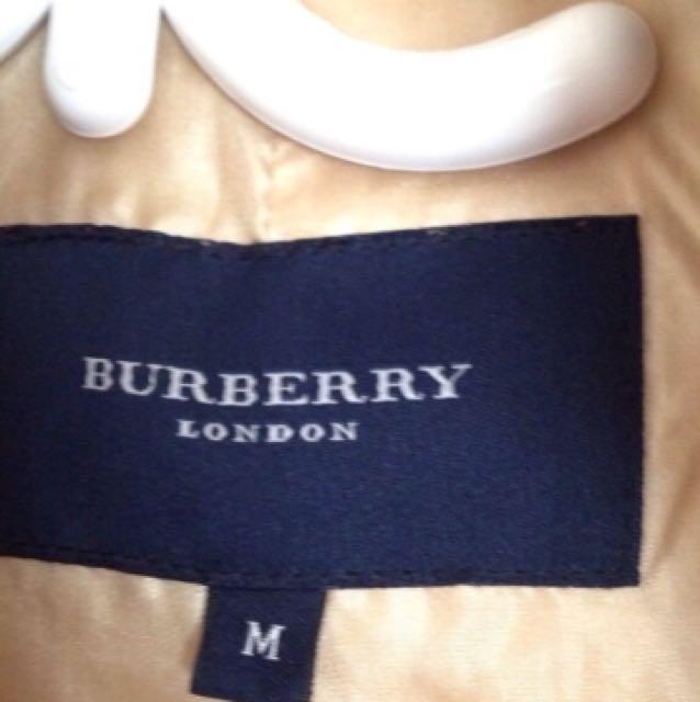 Authentic BURBERRY LONDON VEST AND JACKET SIZE MEDIUM