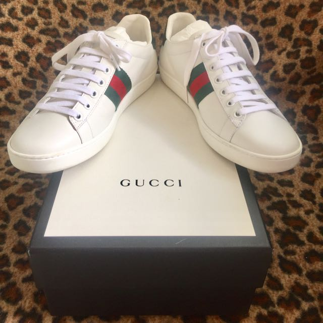 9e2f47699eb REPRICED Authentic Gucci Ace Sneakers