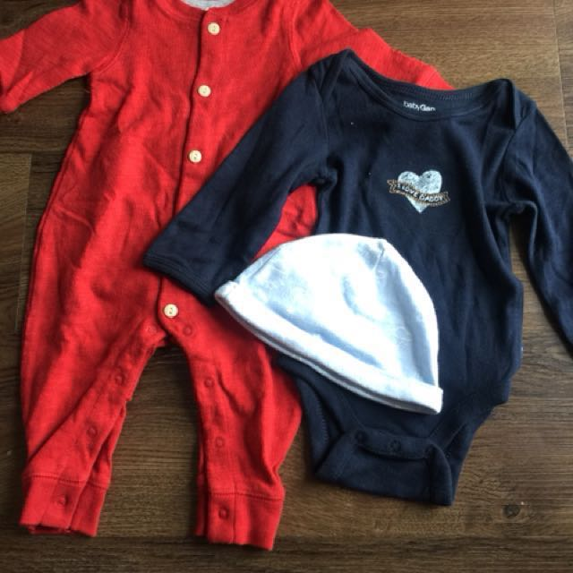 Baby Gap Onesies for 0-3 months