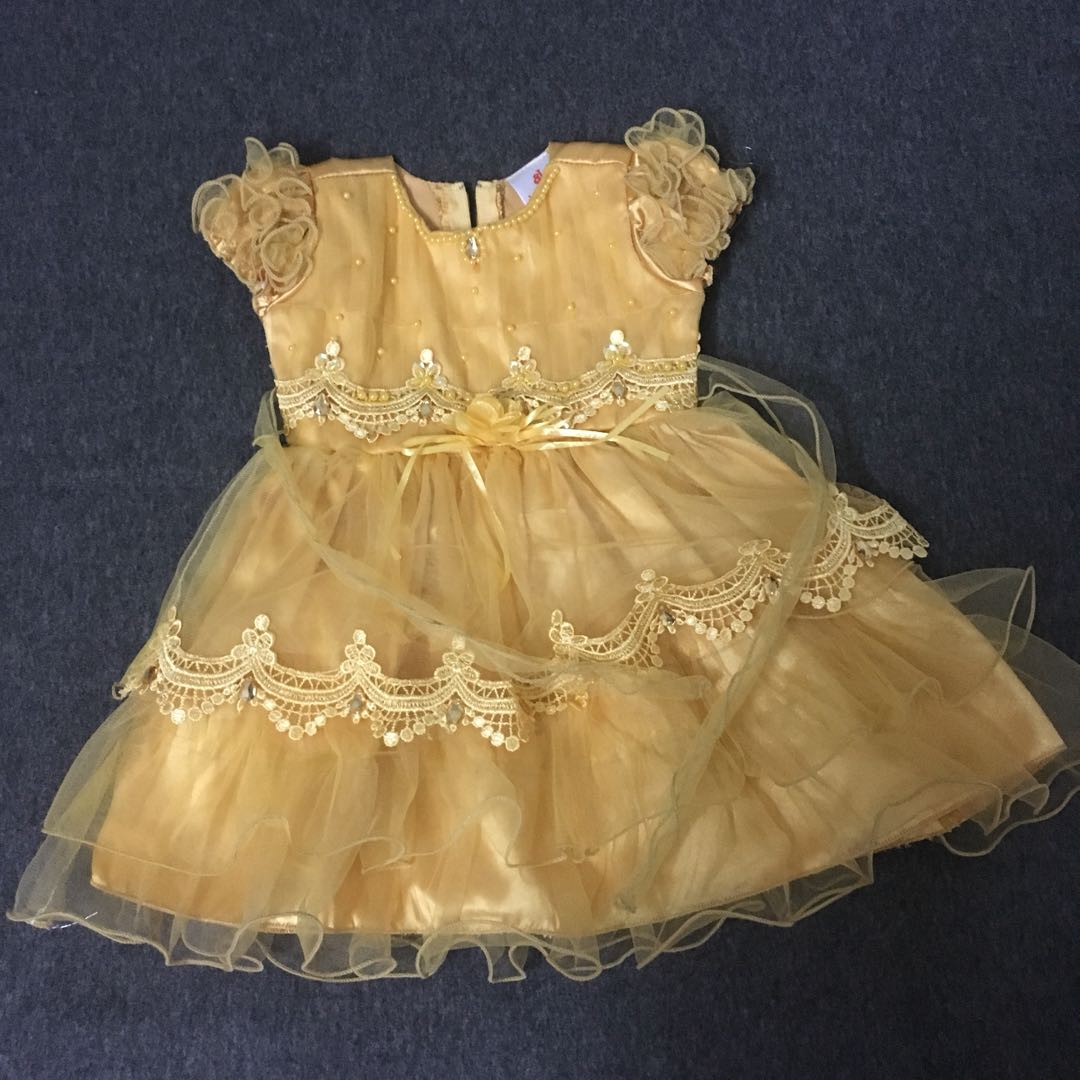 Baby girl gown