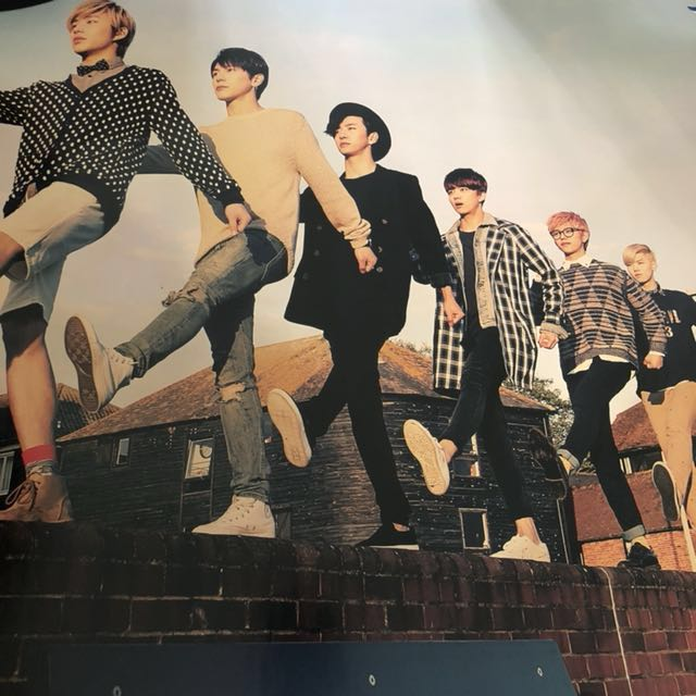 B.A.P Official Poster