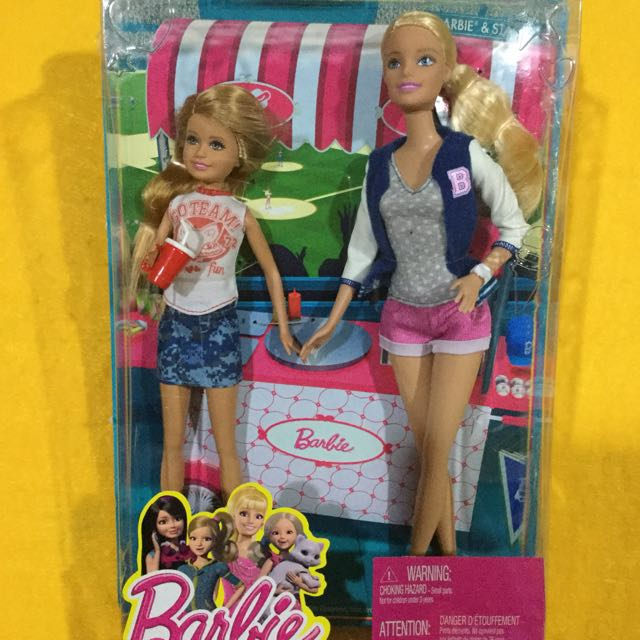 🆕Barbie Sisters Barbie and Stacie Doll 2-Pack