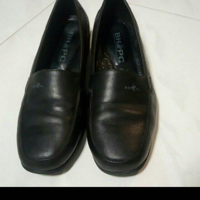 Beverly hills polo club leather courtshoe