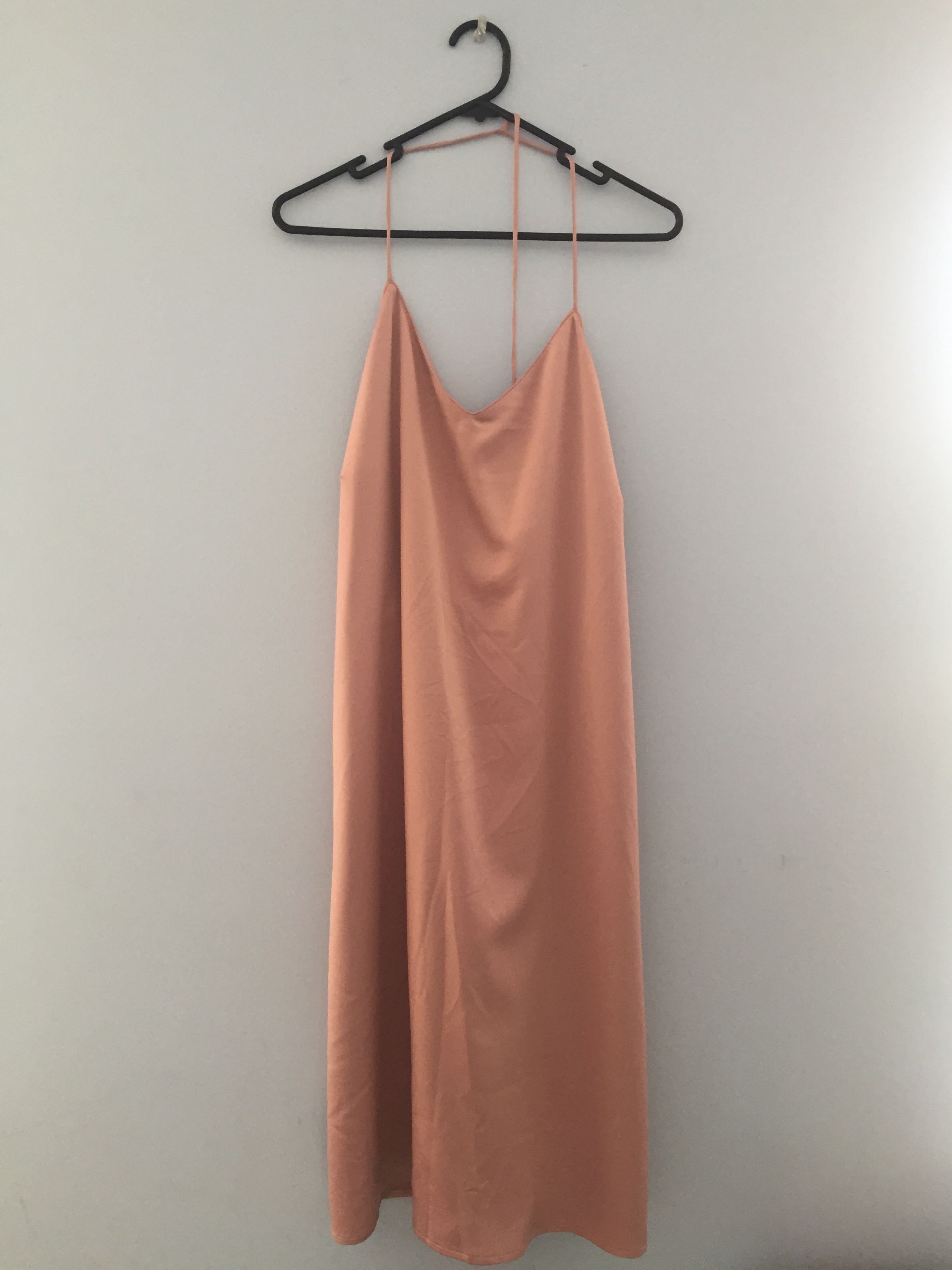 Blush Slip Dress Size L