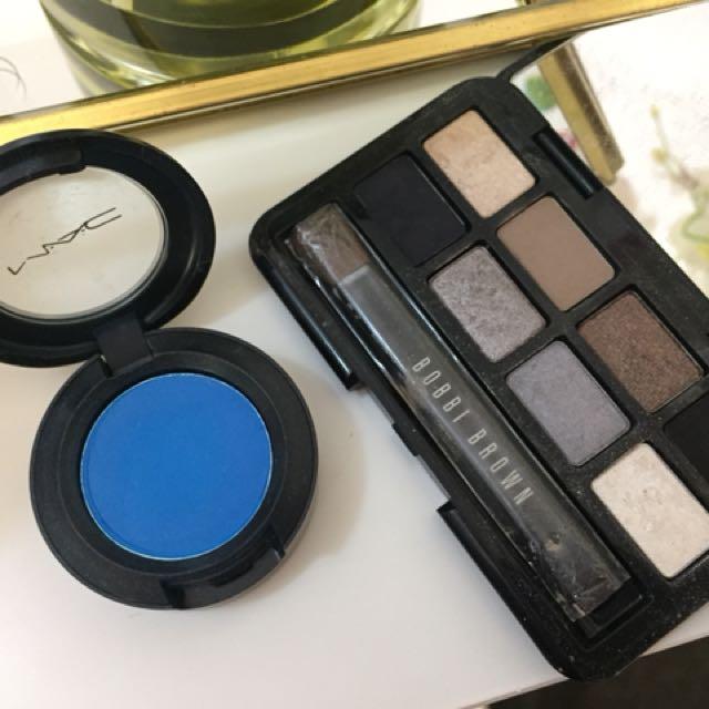Bobbi brown eyeshadow & Mac