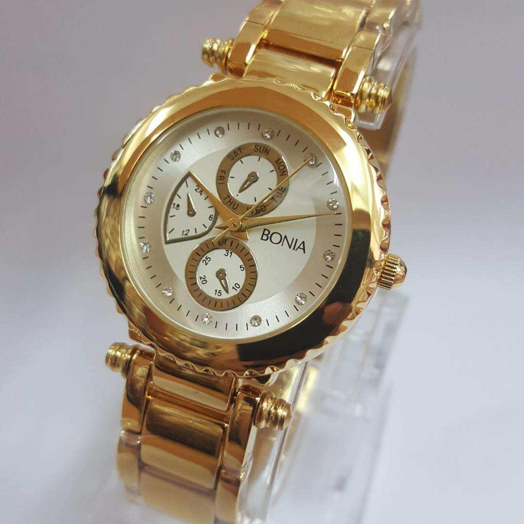 Bonia B10282 2223s Jam Tangan Wanita Gold Daftar Harga Terlengkap Silver Bn10198 2315s Fesyen Photo