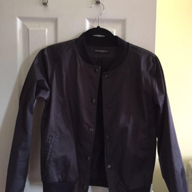 Brandy melville light bomber jacket
