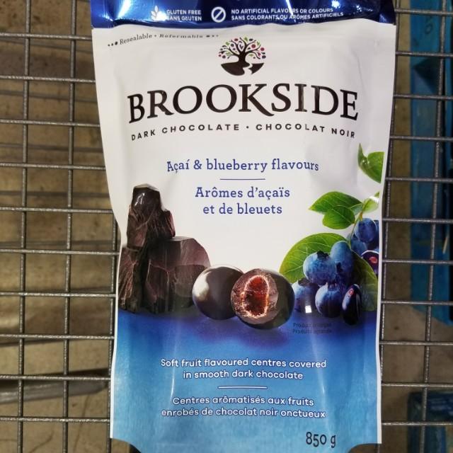 BROOKSIDE CHOCOLATE   acai blueberry 850g