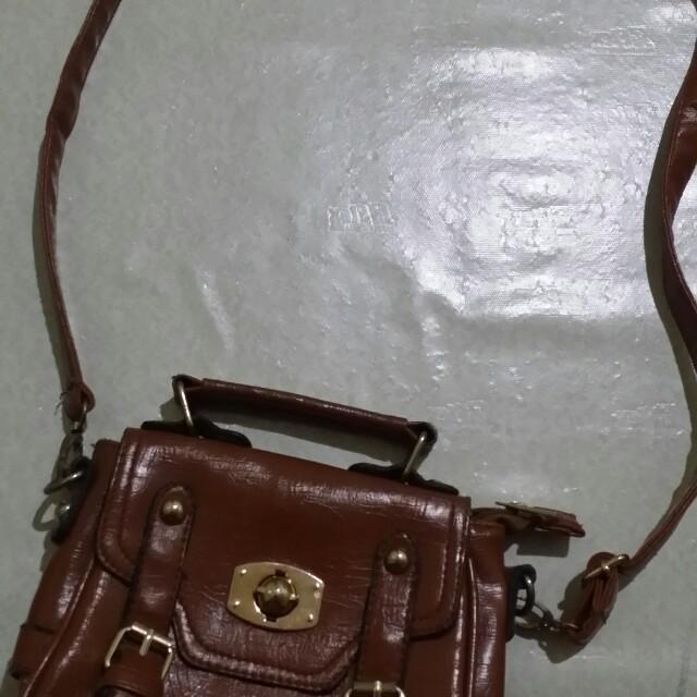 Brown Sling Bag (small