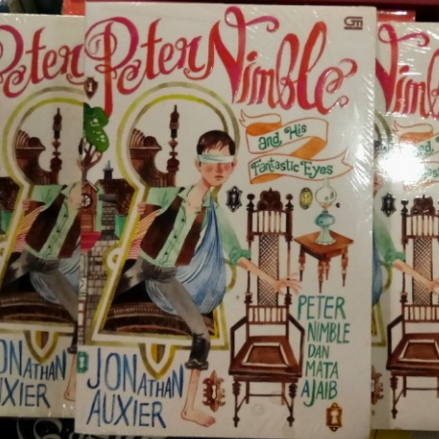 Buku Novel Best Seller Peter Nimble dan Mata Ajaib oleh Jonathan Auxier