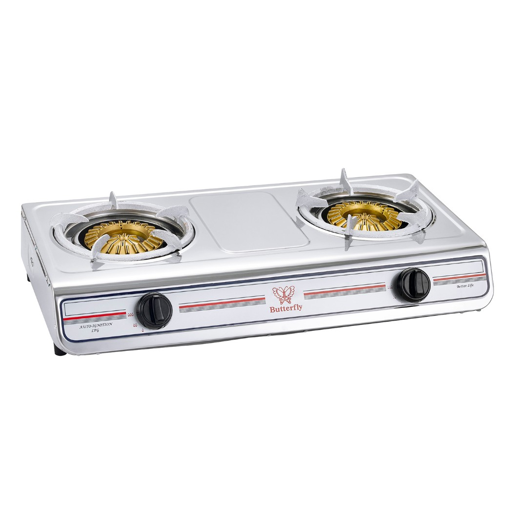 Erfly Bgc 933 305 Double Gas Stove Kitchen Liances On Carou