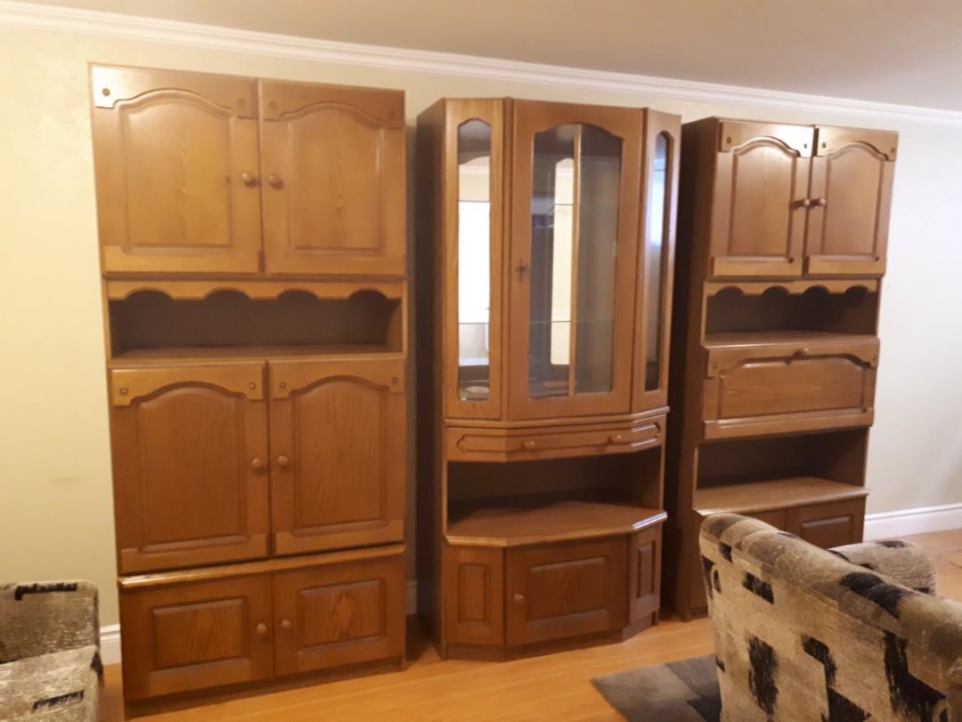 Cabinet set of 3