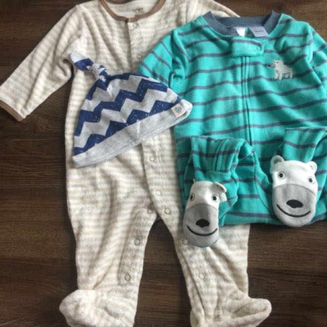 Carter's Sleepsuits for 6 months