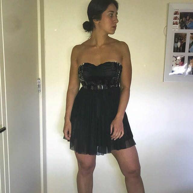 #cheapaschips BNWT strapless lbd