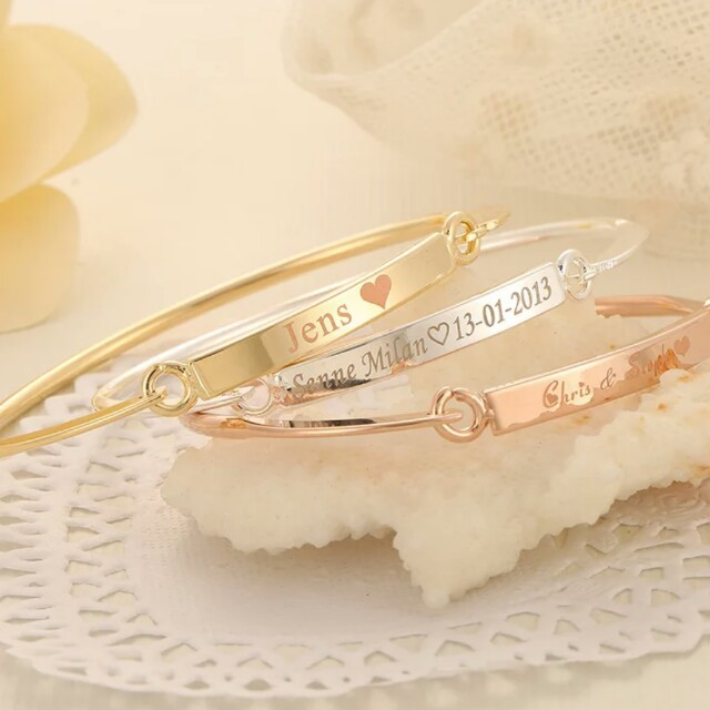 Customized bangles