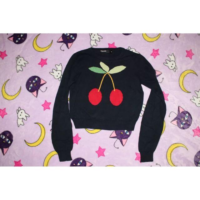 Dangerfield Cropped Sweater Knit