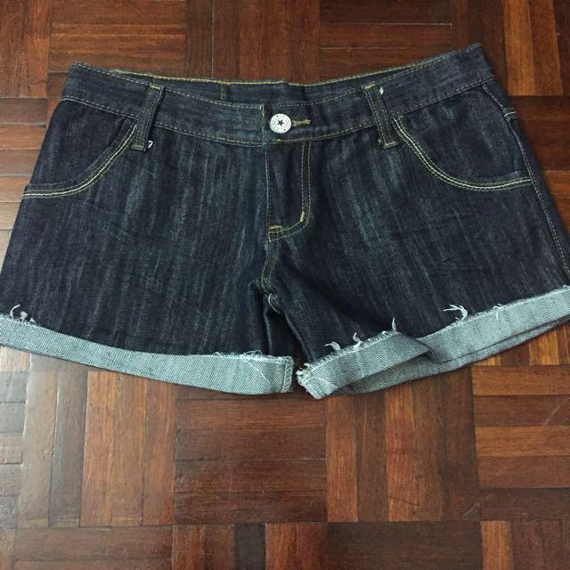 Denim Shorts #Bajet20