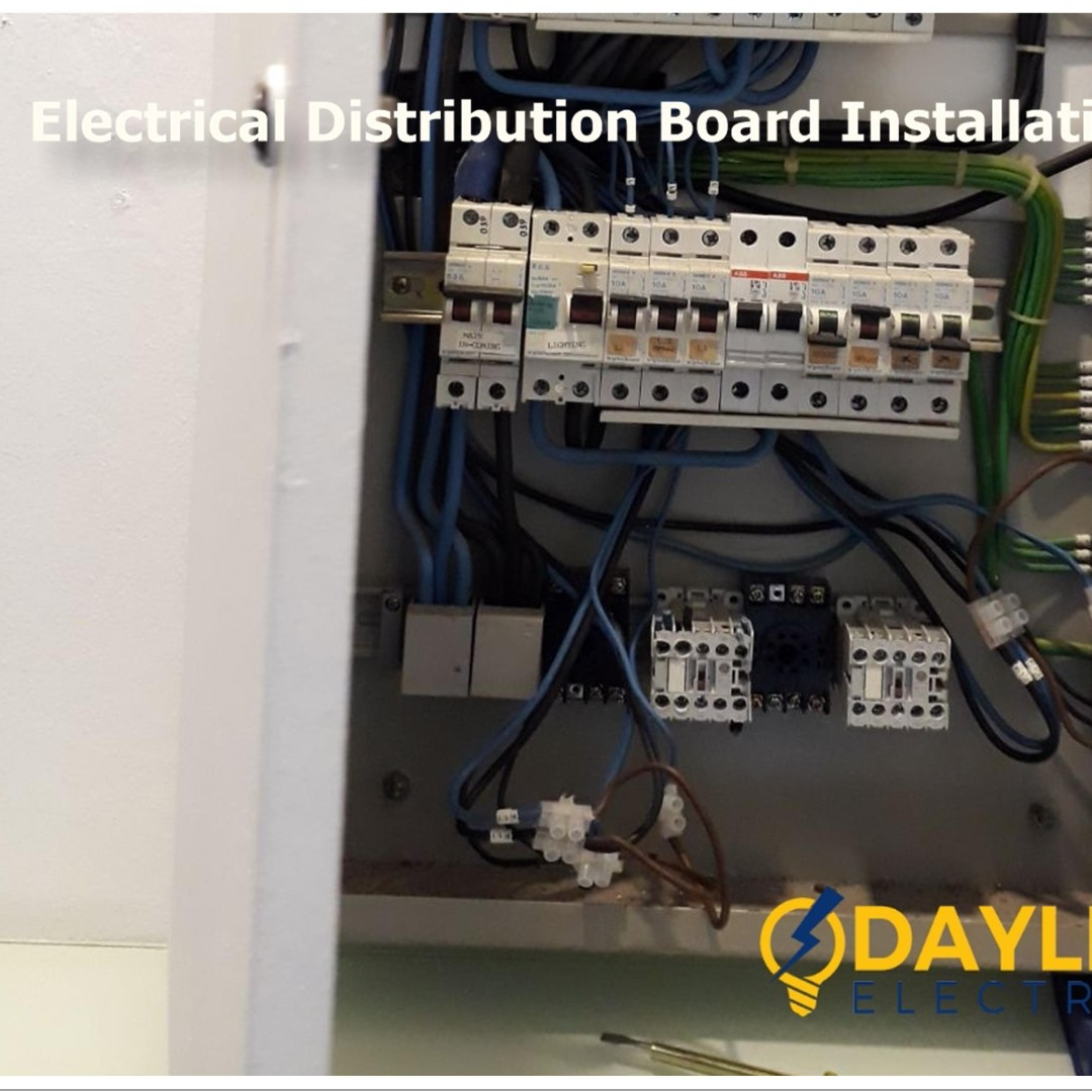 Electrical Distribution Board Installation (Electrical panel ...