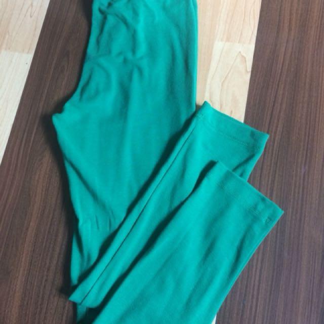 Elle green legging