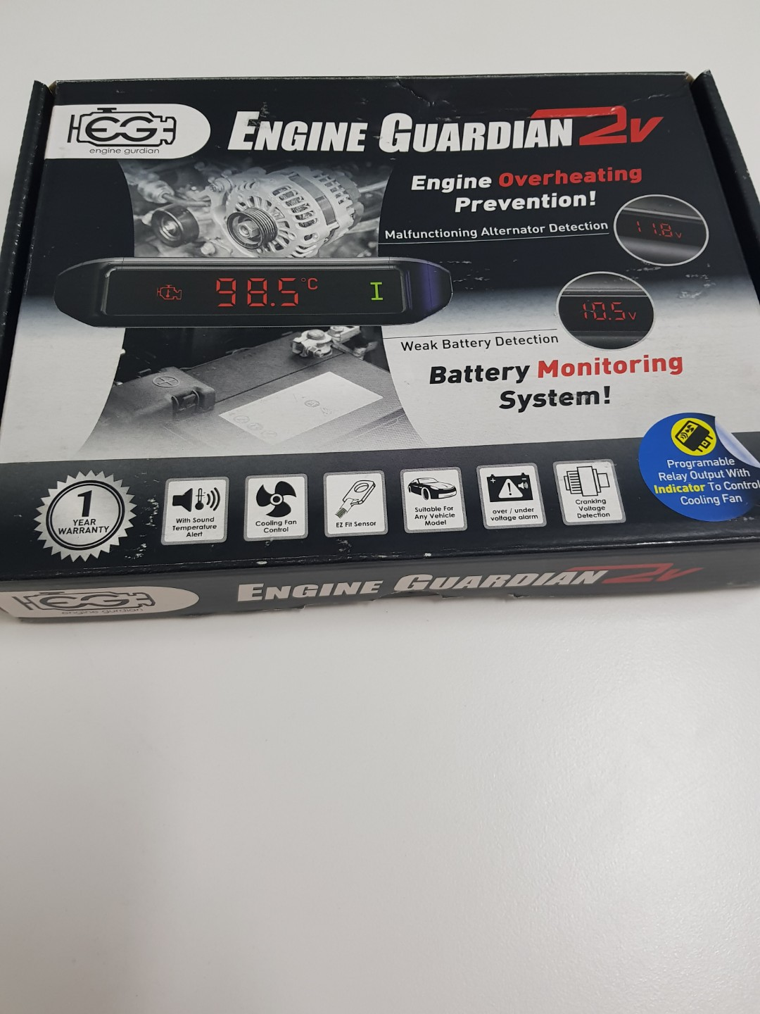 Engine Guardian Car Accessories On Carousell Overheating Alarm