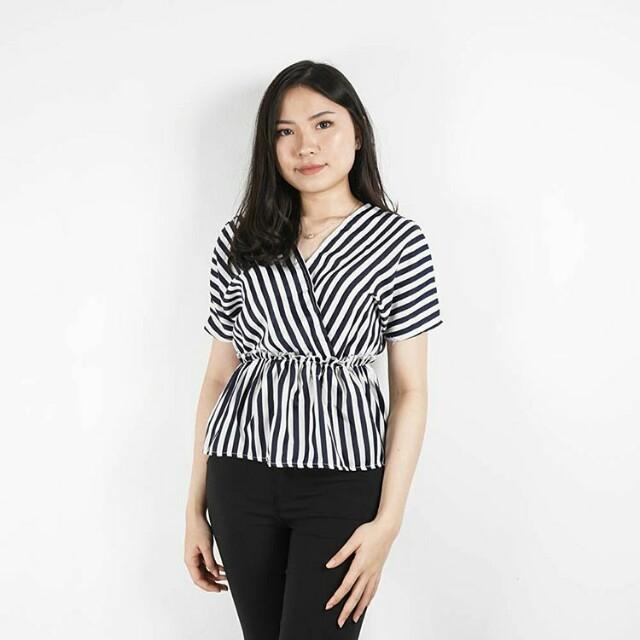 Flerika Stripe Blouse