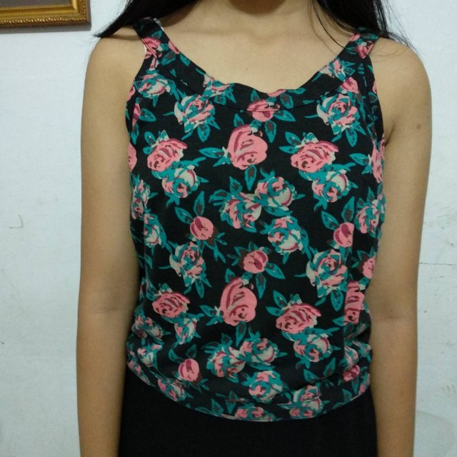 Floral Top *freeongkir