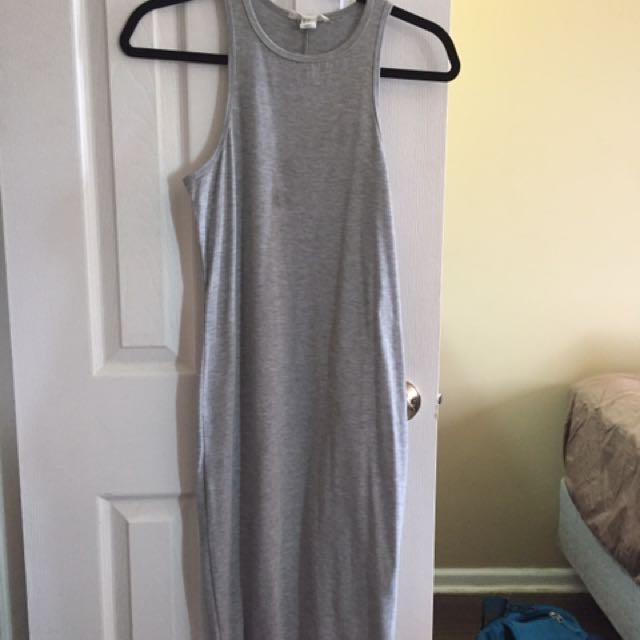 Forever 21 below the knee fitted dress