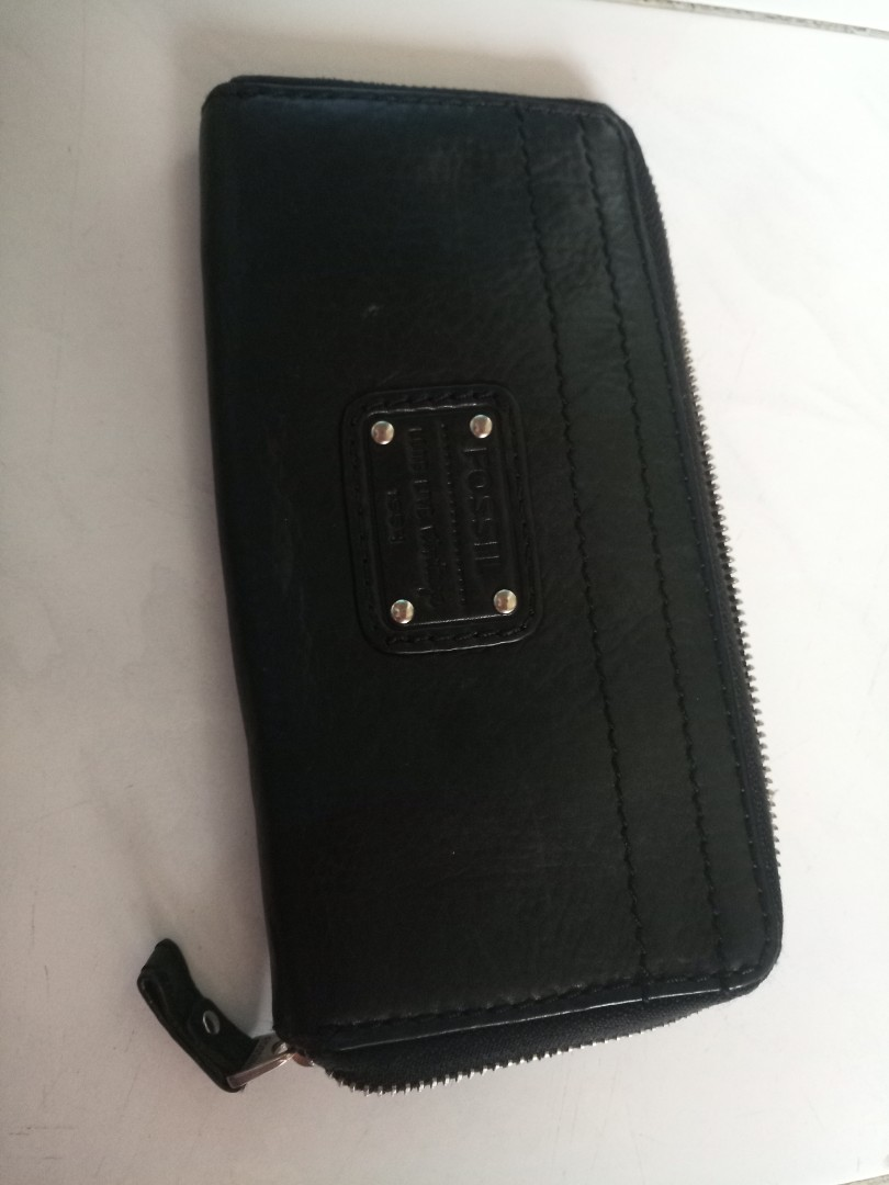 Fossil wallet black