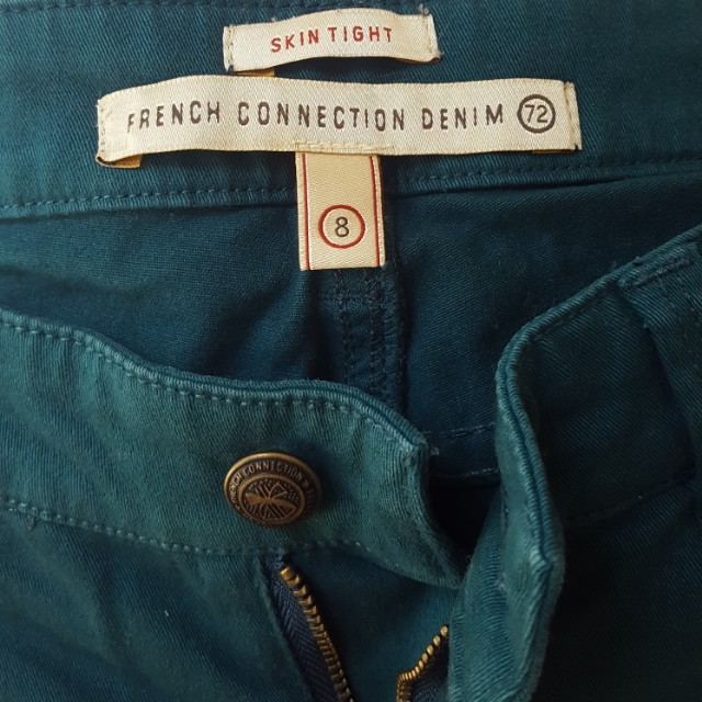 French Connection Turquoise Jeans