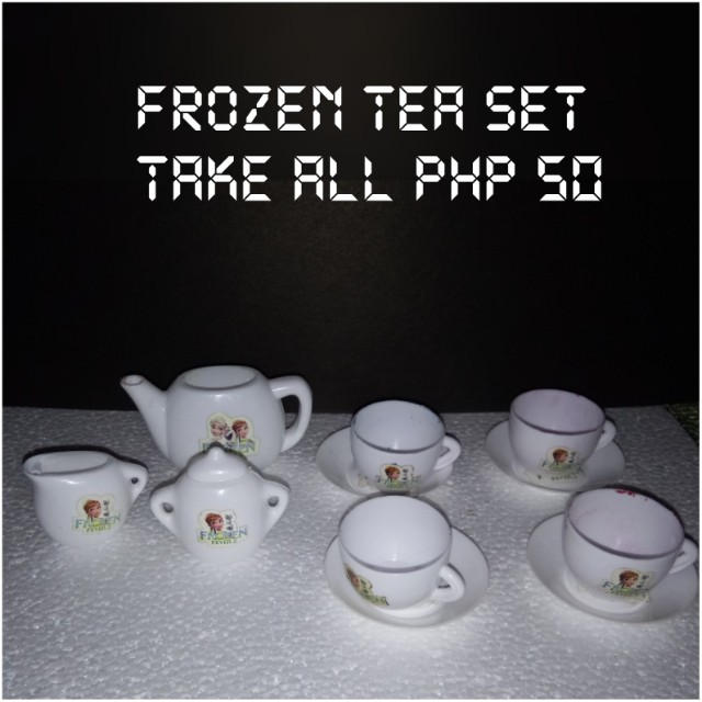 Frozen Tea Set