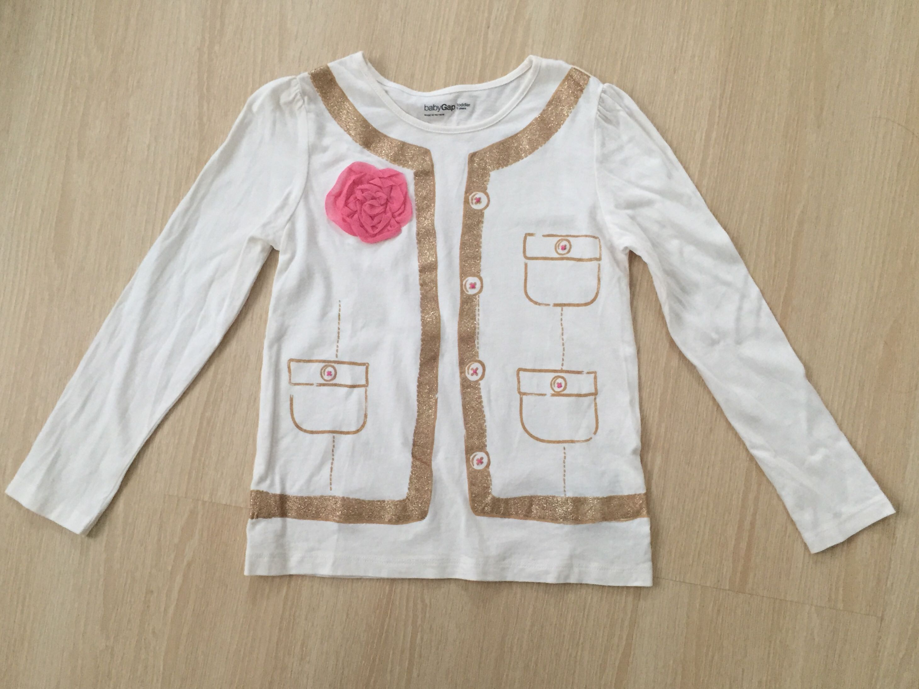 Gap Girl Long sleeves Tshirt Babies & Kids Girls Apparel on Carousell