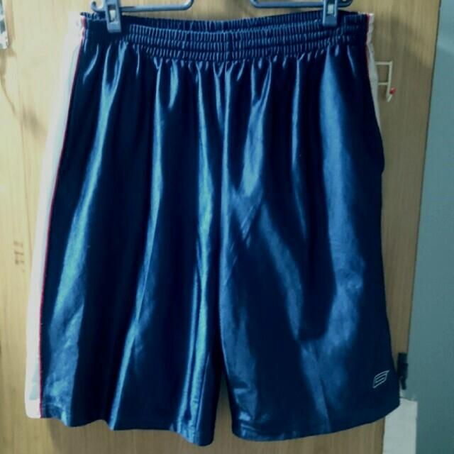 Gogo sport 深藍色 籃球短褲