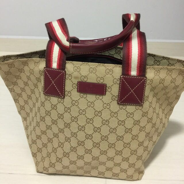 f18c66cb5d69 Gucci diaper bag (NA) (price reduce), Luxury, Bags & Wallets on ...