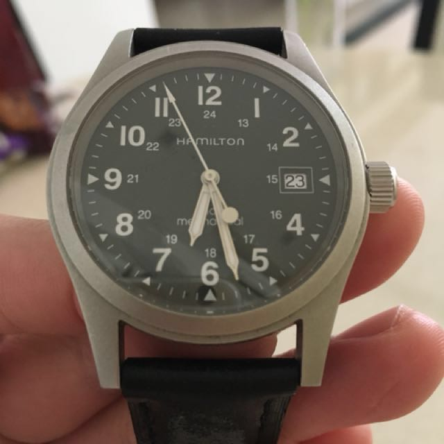Hamilton Khaki Field Officer Mechanical Luxury Watches On Carousell
