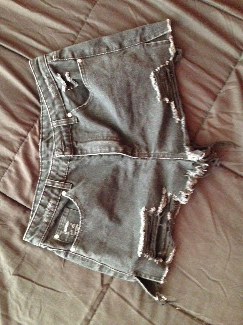 High-Wasted Shorts