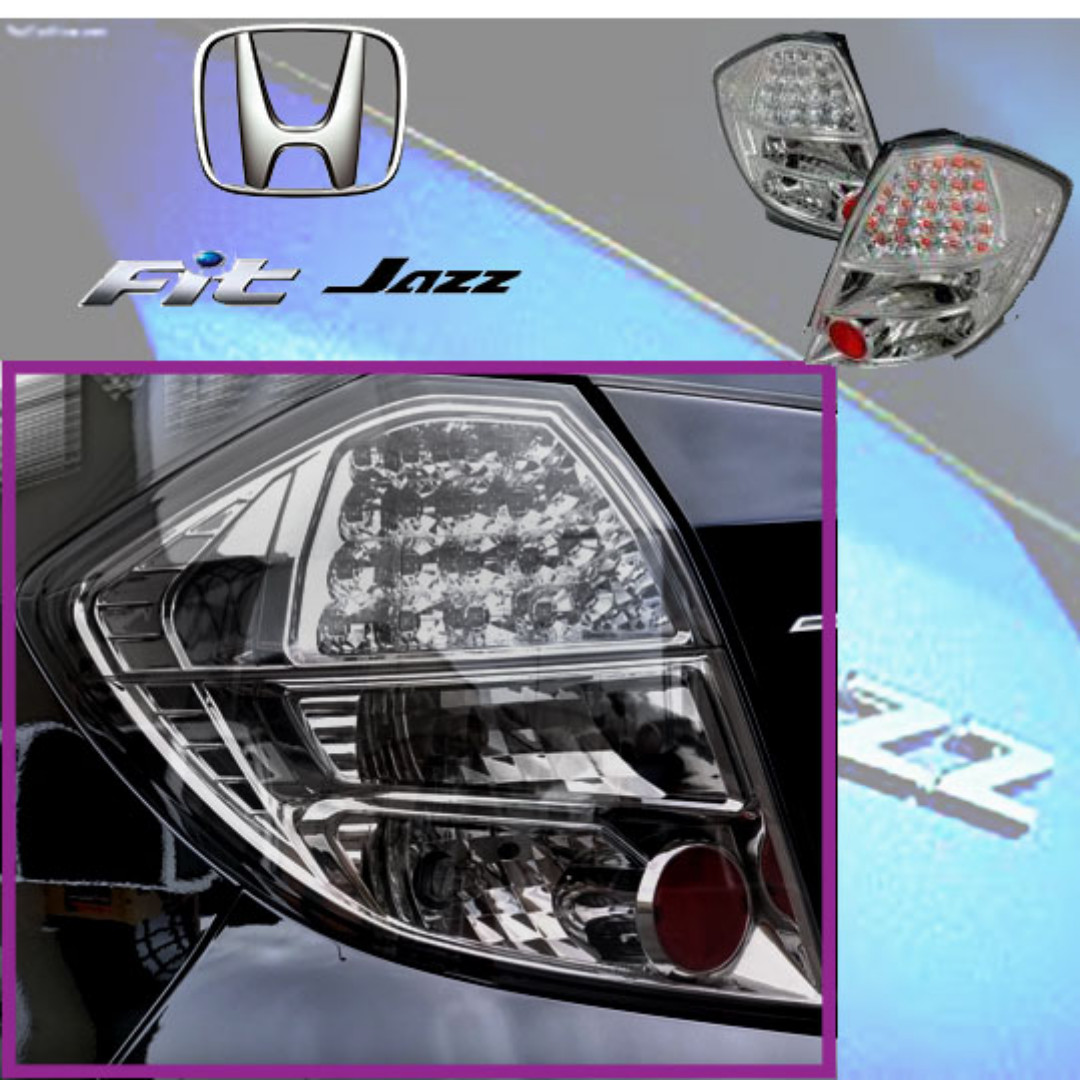 Honda Jazz Ge8 Led Tail Lamp  Auto Accessories On Carousell