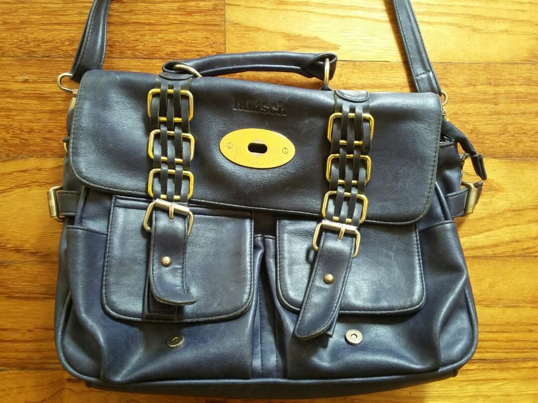 HUBSCH Dark Blue Bag