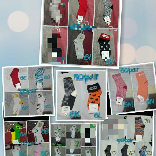 Iconic / korean sock