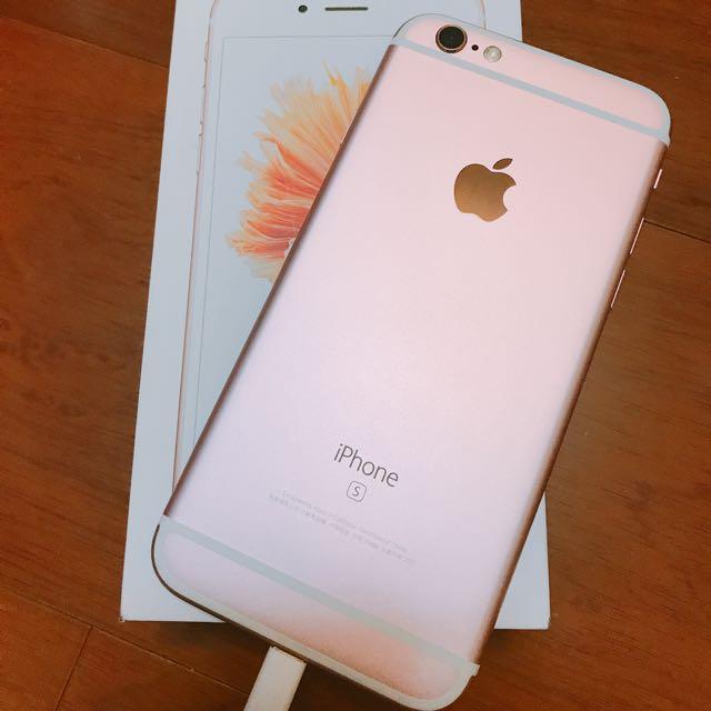 iPhone 6S 64G 粉 完美無傷