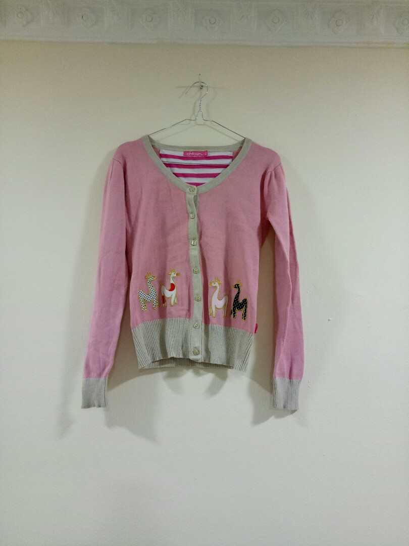 Jaket Pink Chic Girl