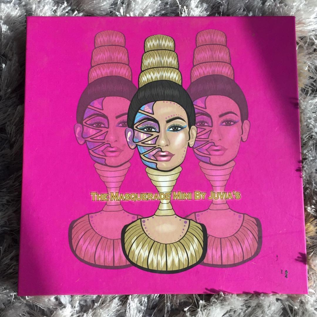 Juvia's The Masquerade Palette